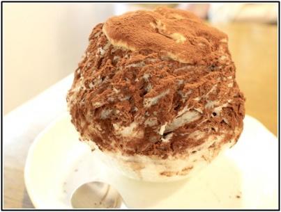 ミルクココアにきなこクリーム
